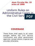 Procedures in Admin. Case
