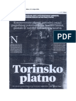 Zoran Vitas - Torinsko platno, Obzor, 22. ožujka 2014.