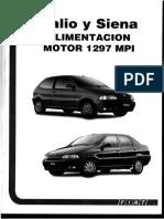 Palio y Siena Alimentacion Motor 1.3 MPI