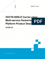 ZTE ZXCTN 9000-E v3.00.10 L3 Switch Product Description_20150128_EN