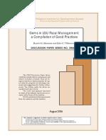 LGU Fiscal Management-Best Practices
