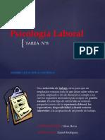 Psicologia laboral Tarea 8
