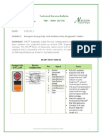JPRO Diagnostic Cables Technical Service Bulletin TSB 0001 6 13