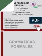 gramaticas formales