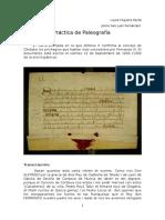 Práctica Paleografía