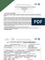 Instrumentación Didáctica de La Materia Para La Formación y Desarrollo de Competencias (ITSPR)