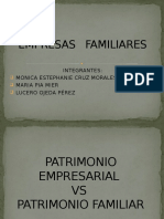 patrimonio empresarial Empresas Familiares
