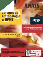 Anais I Coloquio de Antropologia Da UFMT