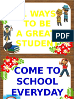 11 Ways to Be a Great Students