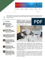 DPRD Kaltim Konsultasikan Rekrutmen Komisioner Ke KIP