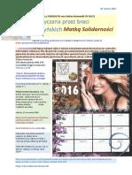 SZCZURY App PDO256 FO von Stefan Kosiewski 70 WOLYN F0172 Falszywa Matka Solidarnosci 20160126 Magazyn Europejski SOWA