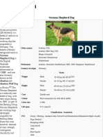 German Shepherd - Wikipedia, The Free Encyclopedia
