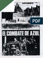 """Estrella Rojas - Suplemento """"El Combate de Azul"""""""