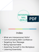 Interpersonal Skills & Listening Essentials