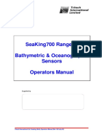 Seaking Bathy Operators Manual (Rev 103 July 99)
