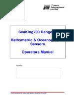 Seaking Bathy Operators Manual (Rev 103 July 99)