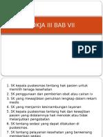 Resume Pokja III Akreditasi