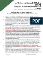 Formulir Pendaftaran TOEFL ITP