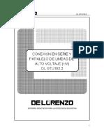 DL GTU102_3 SPA Conexion en Serie y Paralelo de Lineas de Alta Voltaje (HV)