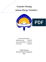 Transfer Pricing Especially in Indonesia
