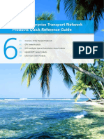 Huawei Transport Network Products Quick Reference Guide