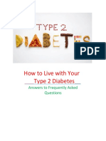 How To Live With Your Type 2 Diabetes