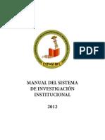 Manual Sistema de Investigacion_2012