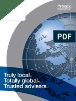 Praxity Brochure 2014 PDF