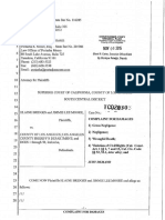 Complaint Against Los Angeles County government