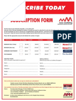 Newspaper Subscription Form