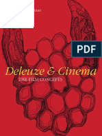 Colman Felicity, Deleuze and Cinema. the Film Concepts-Books