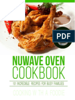 Nuwave Oven CookBook - 101 Incredible Recipes For Busy Families