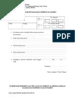 Formulir HPK-RSSS