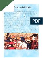articolo Guerra dell'Oppio