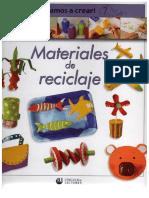 Manualidades Con Material de Reciclar