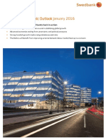 Swedbank Economic Outlook January 2016