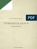 1887 - Hasdeu, Bogdan Petriceicu (1838-1907) - Etymologicum Magnum Romaniae - Dictionarul limbei istorice si poporane a Romanilor. Volumul 1.pdf