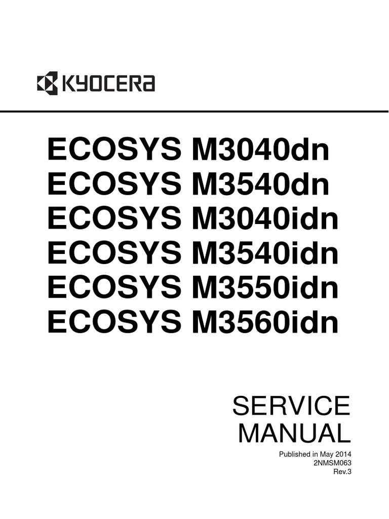 EC M3040idn-3540idn-3550idn-3560idnENSMR3 | Electrical Connector