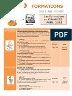 Formations Finances 1er Semestre 2016