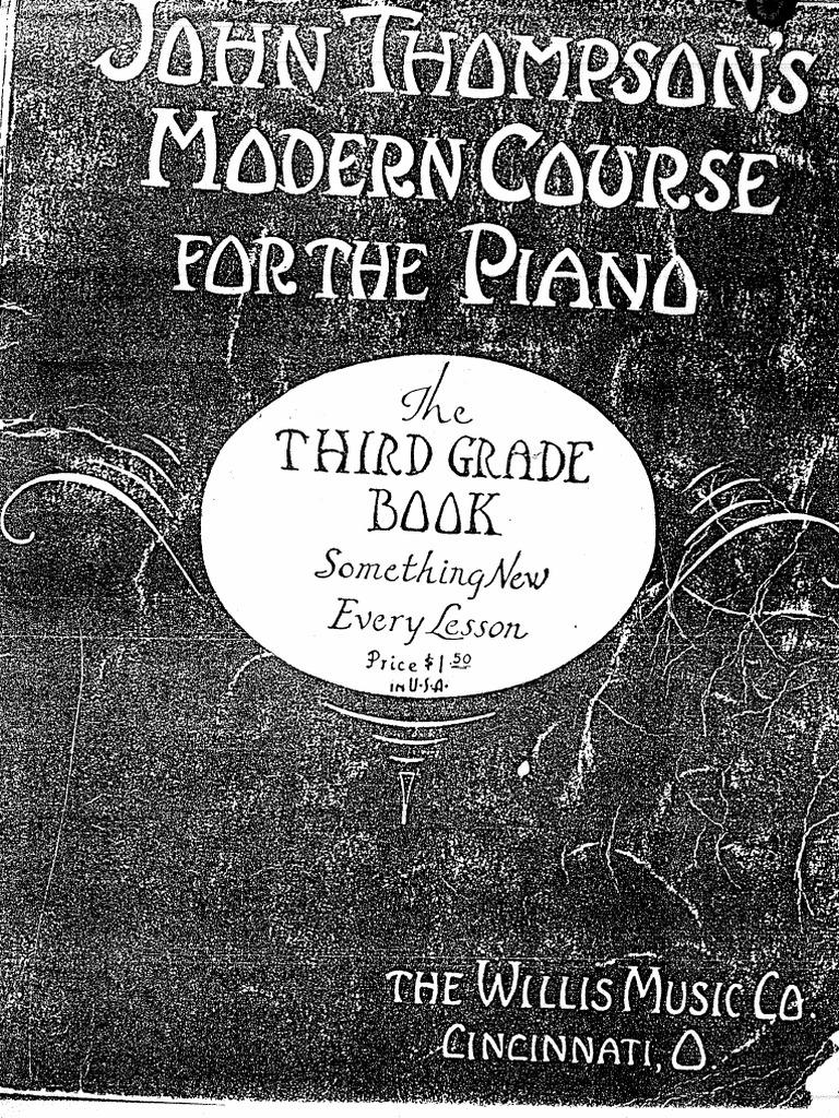 John-Thompson-Modaern Course - Grade 3