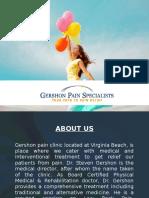 Gershon Pain Specialists