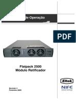 Manual de Operação Reficador Flatpack 2500 (351410.013-2) Port