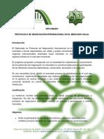 Diplomado Protocolo de Negociación Internacional en El Mercado Halal