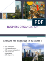 Business Organization 1