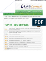 RDC 302/2005 ANVISA