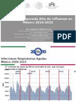 4. Epidemiolog+¡a de las +¦ltimas temporadas de influenza en M+®xico