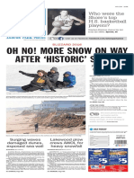 Asbury Park Press front page Tuesday, Jan. 26 2016