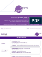 Insights and Outsights, 2015