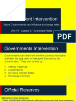 unit 14 - lesson 2 -government intervention