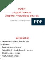 Support Du Cours Hydraulique Des Sols 2015